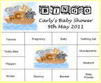 Baby Shower Bingo bsb07
