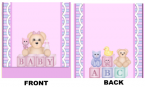 Baby Shower Mintbook bsm15