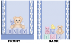 Baby Shower Mintbook bsm14